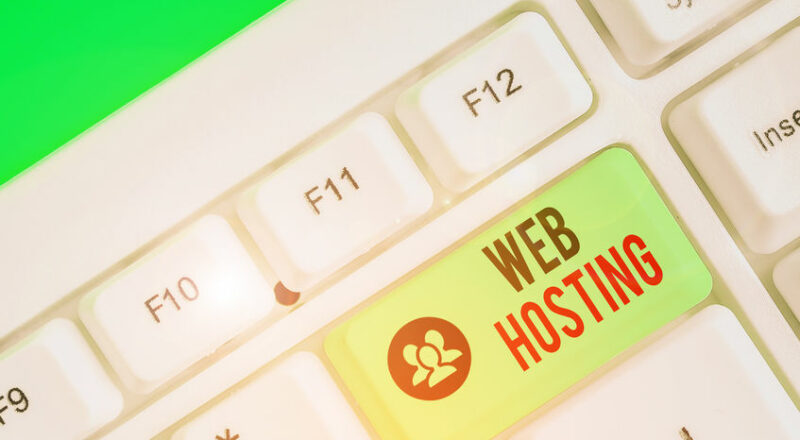 The history of web hosting